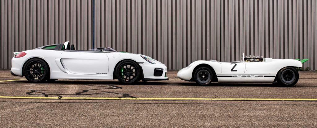 Porsche 981 Bergspyder and 909 profile
