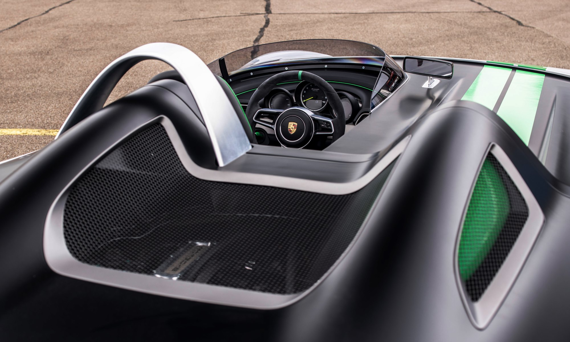 Porsche 981 Bergspyder interior