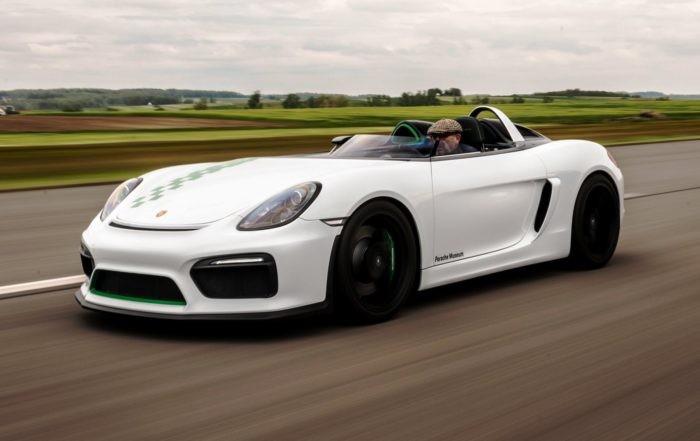 Porsche 981 Bergspyder provides selfish driving pleasures