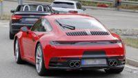 Porsche 992 rear