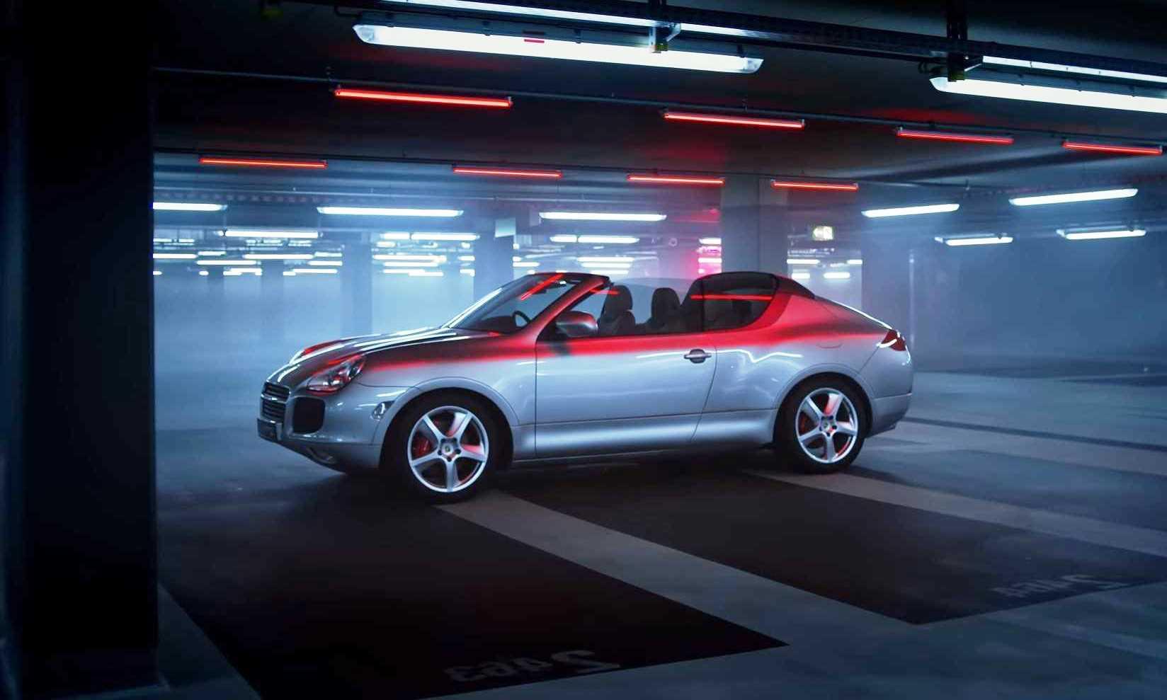 Porsche Cayenne Cabrio prototype