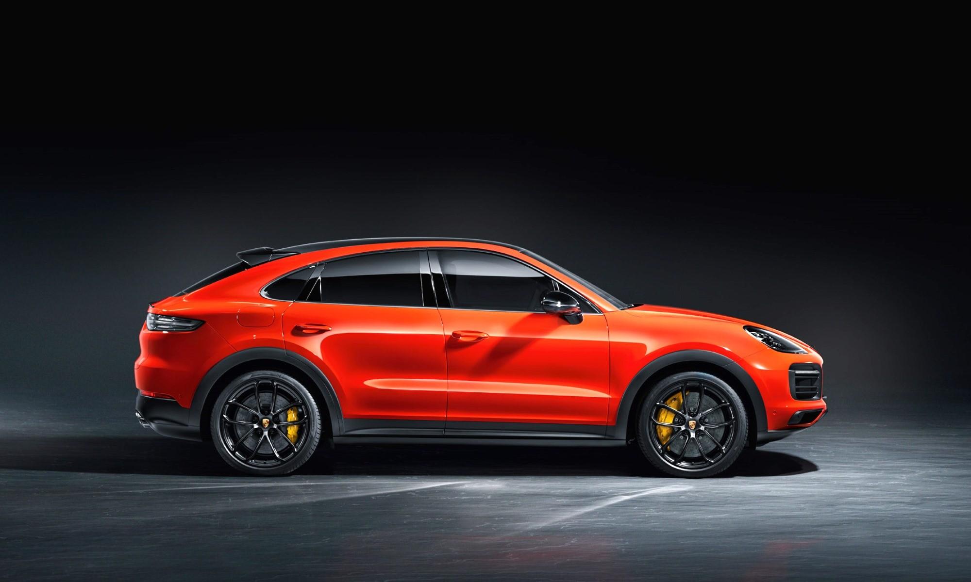 Porsche Cayenne Coupe profile