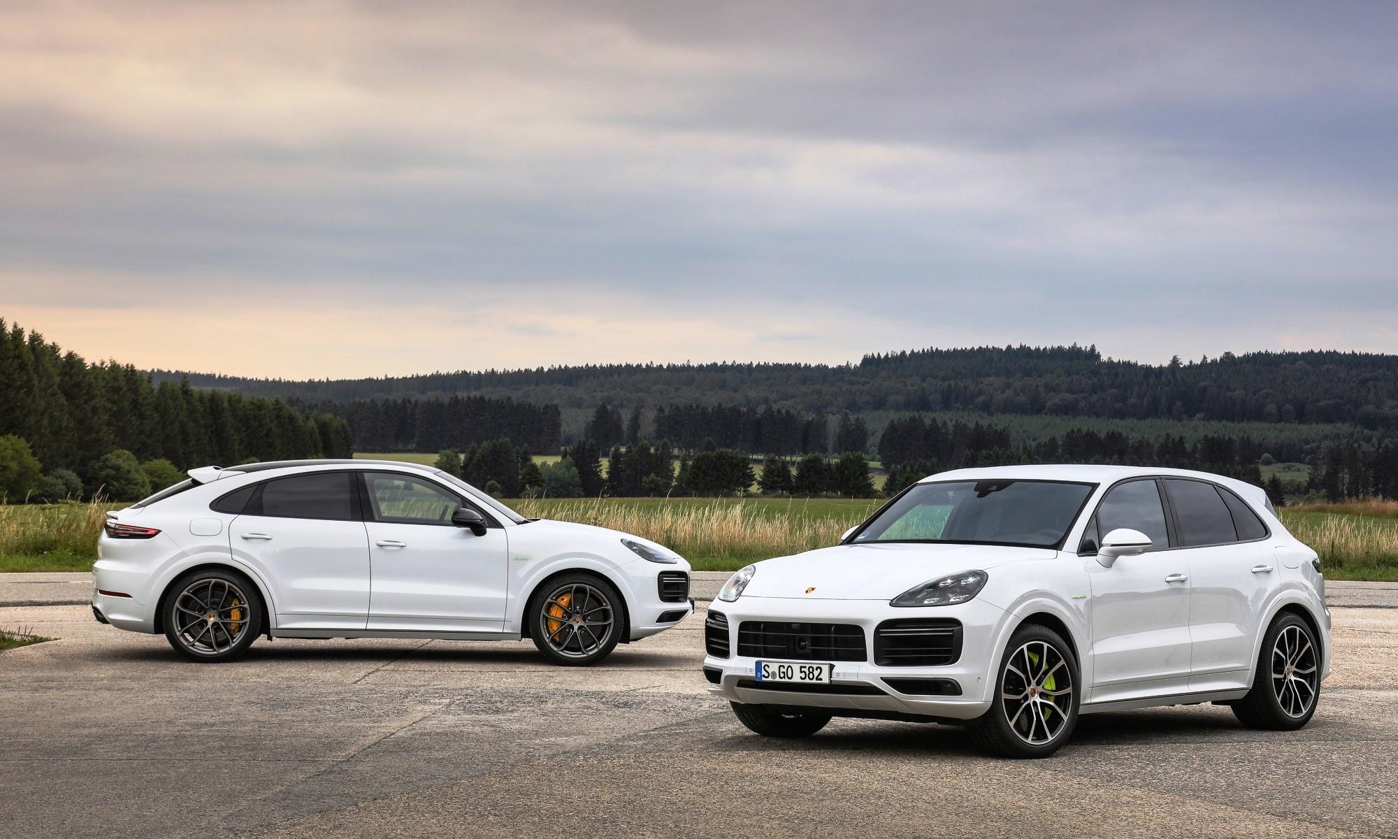 Porsche Cayenne Hybrid Turbo Models