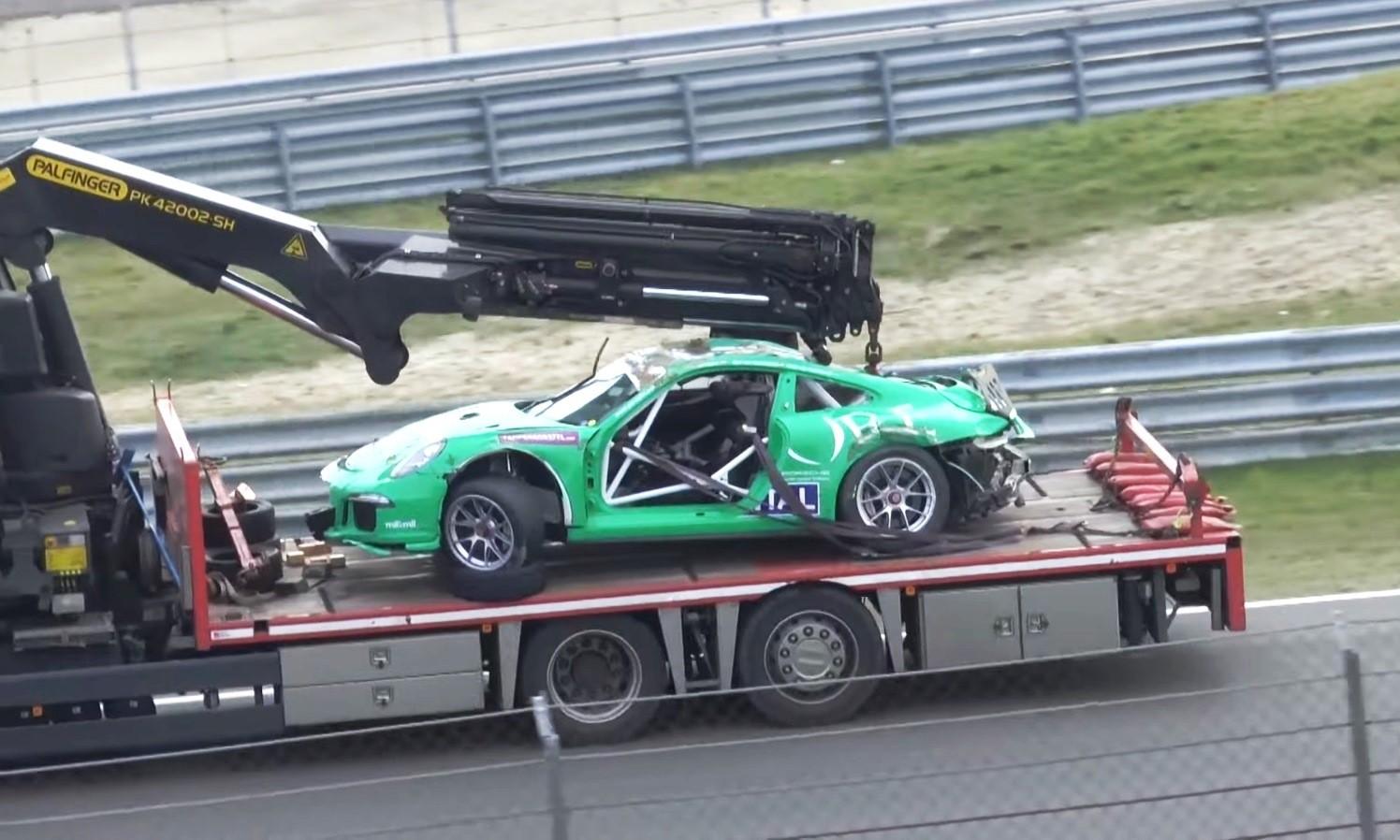 Porsche Crash at Zandvoort 3