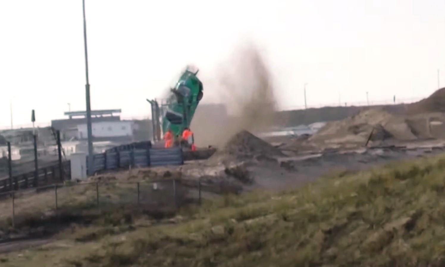 Porsche Crash at Zandvoort