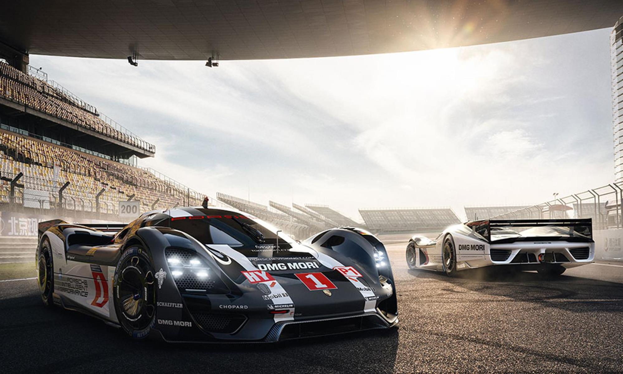 Porsche Le Mans concept cars