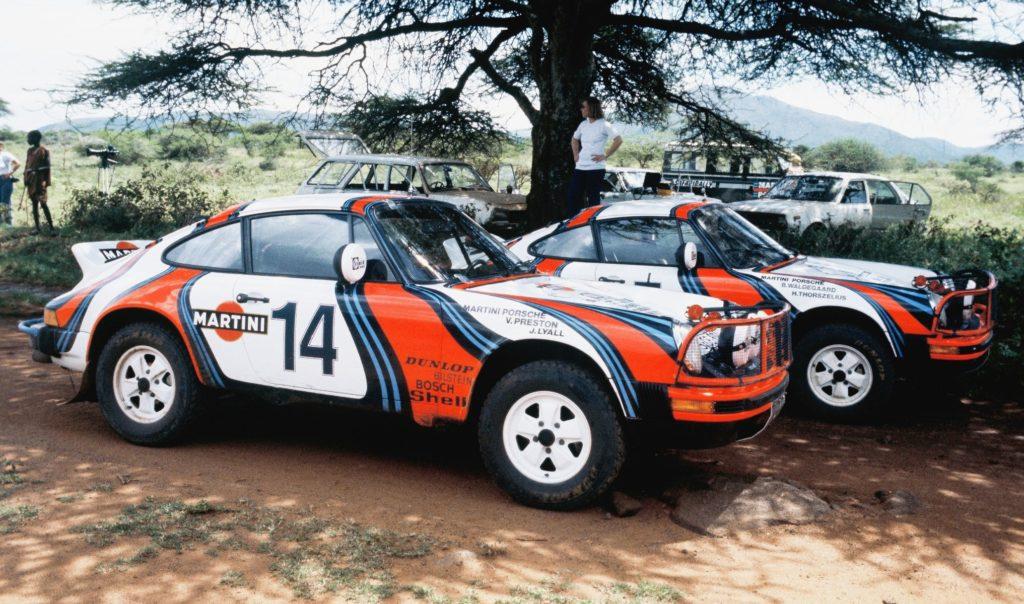 Porsche Safari Rallye
