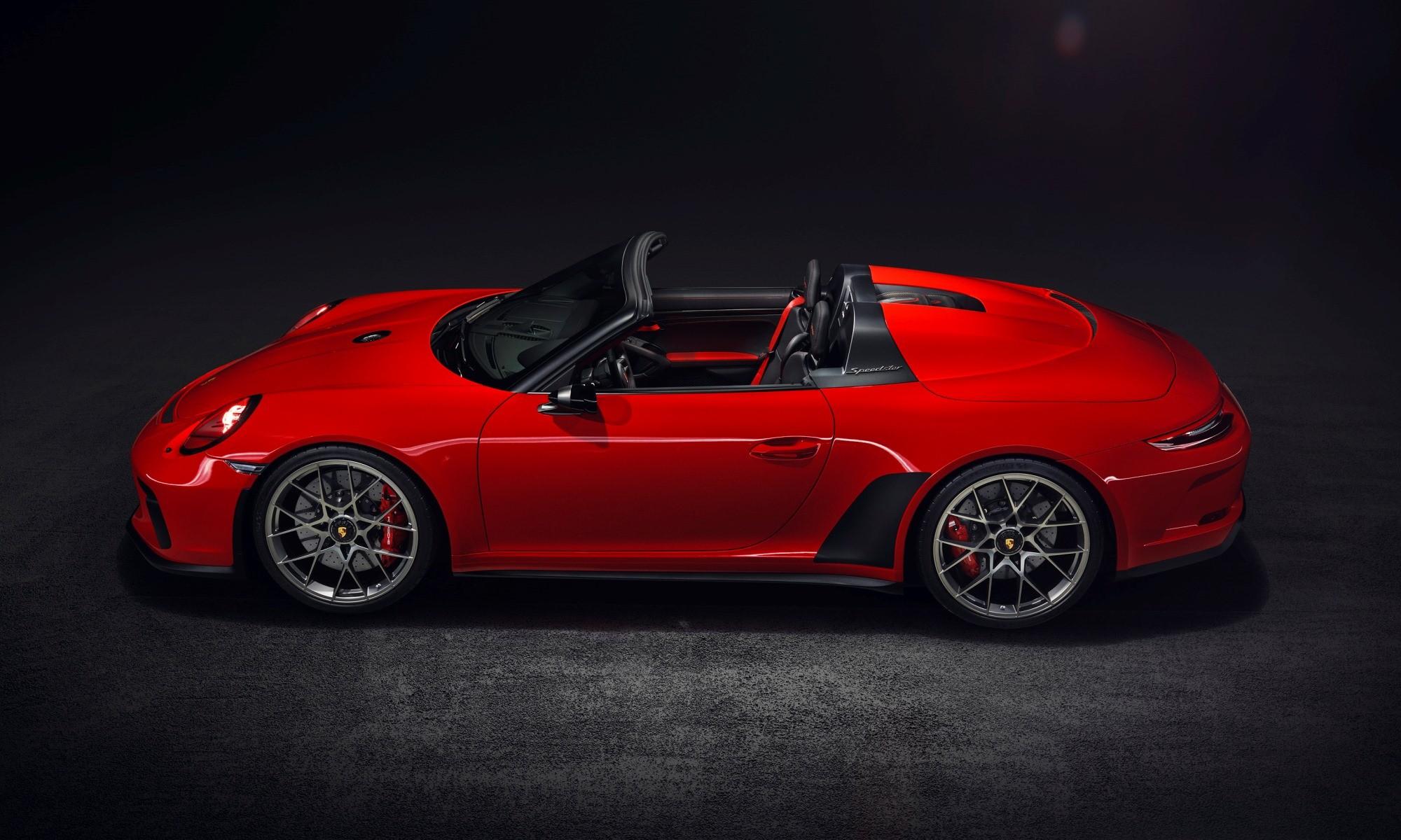 Porsche Speedster profile