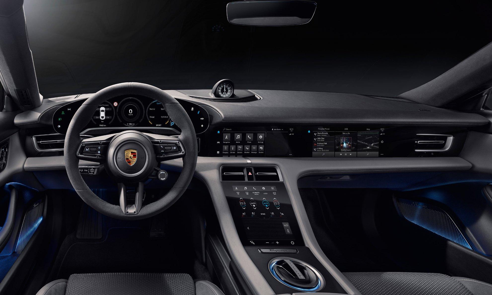 Porsche Taycan SA Pricing
