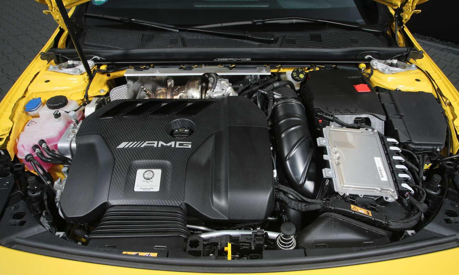 Posaidon Mercedes-AMG A45 engine