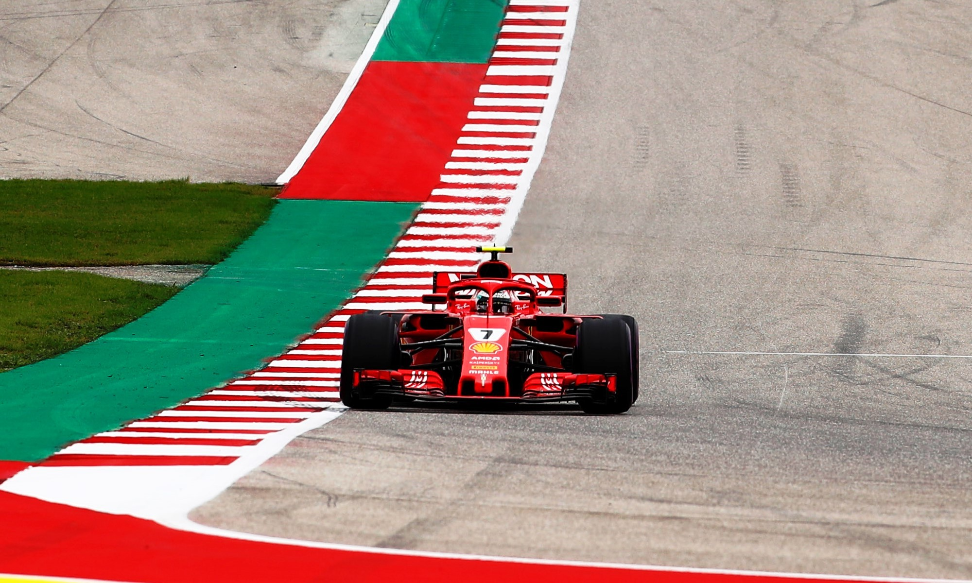 Raikkonen took victory at COTA