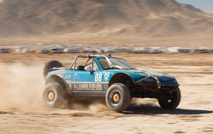 Rally Raid MX-5 action