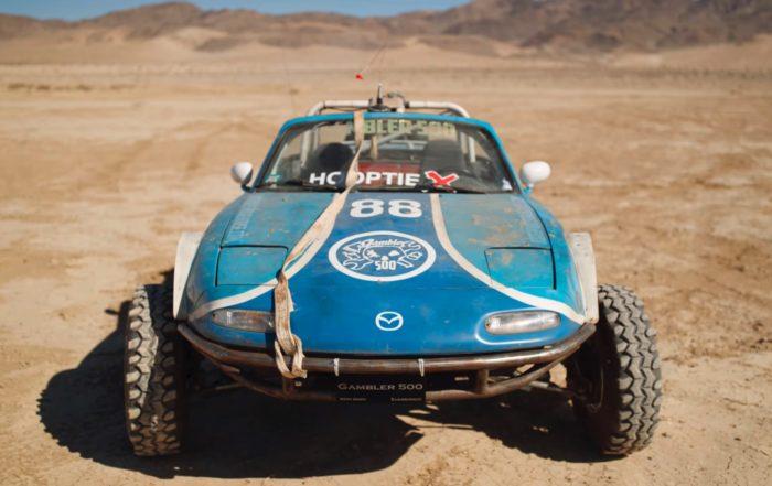 Rally Raid MX-5 front