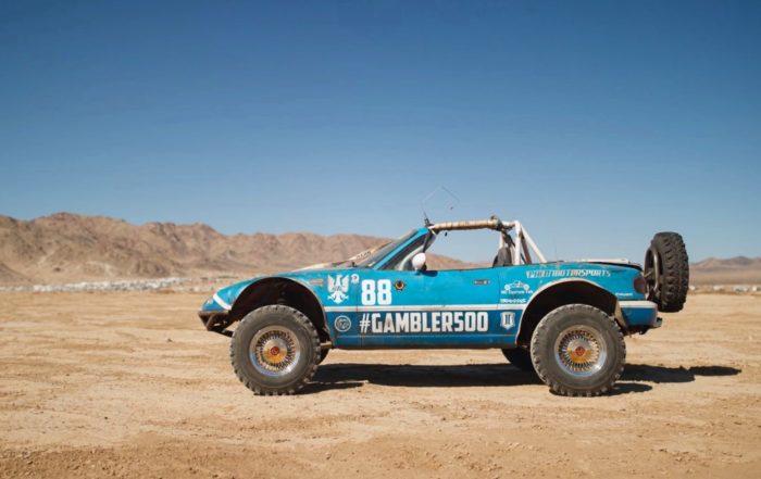 Rally Raid MX-5 profile