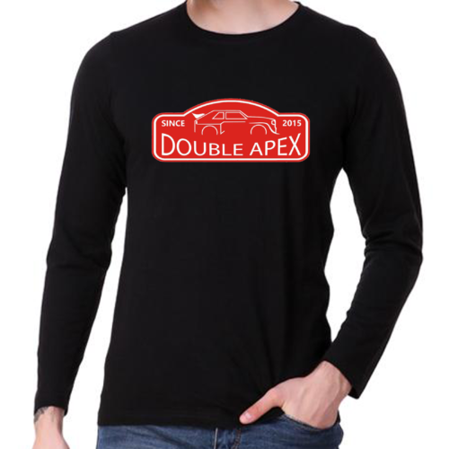 Double Apex Rally Classic long sleeve car T-shirt