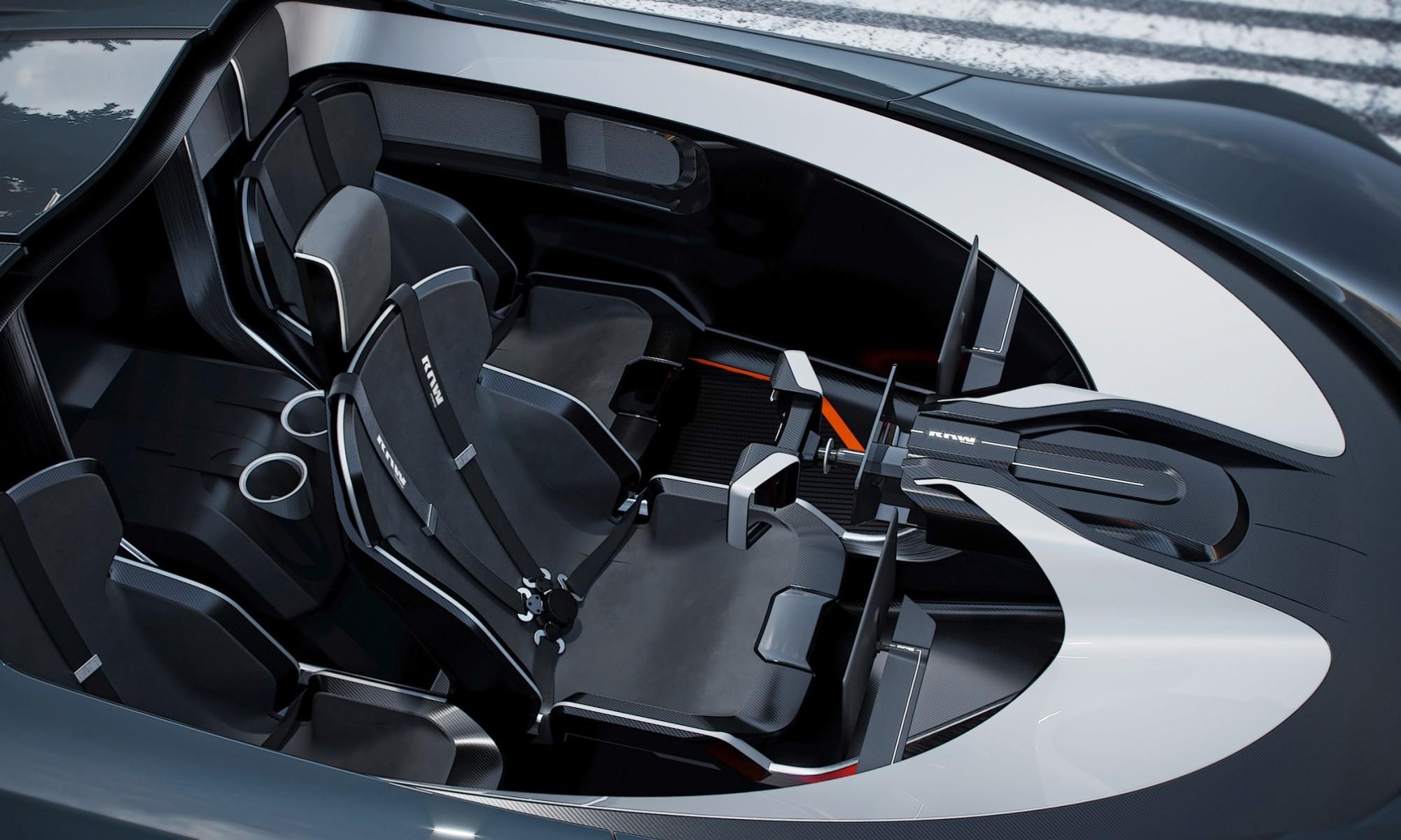 Raw by Koenigsegg cabin