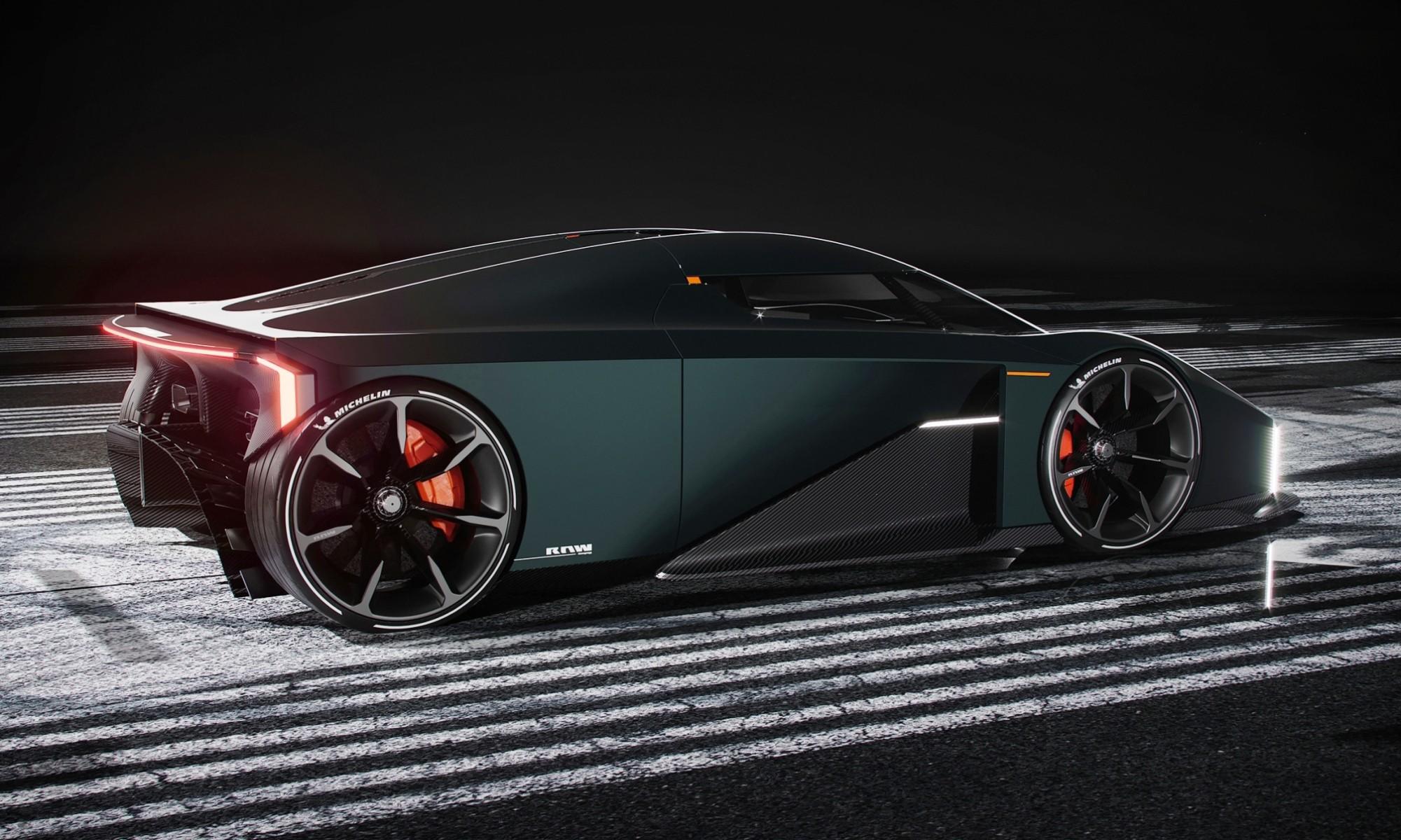 Raw by Koenigsegg rear