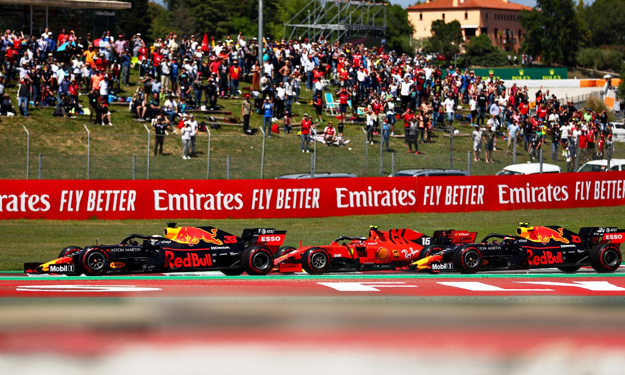 Red Bull Racing took the fight to Ferrari in Spain