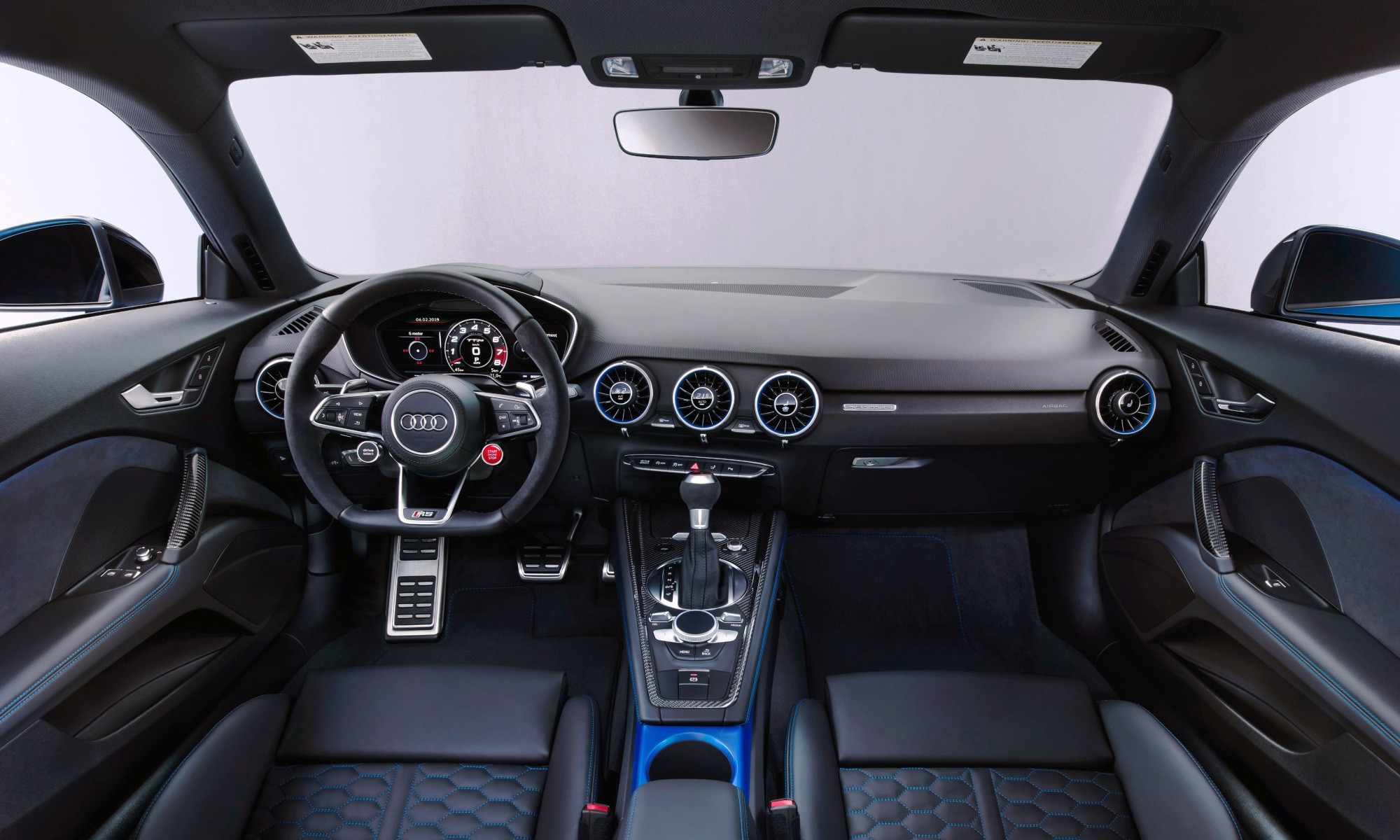 Refreshed Audi TT RS interior