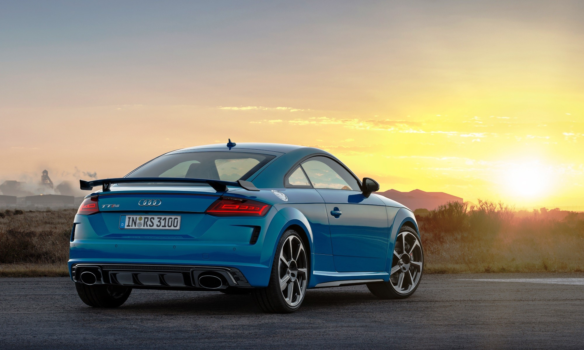 Refreshed Audi TT RS Coupé rear