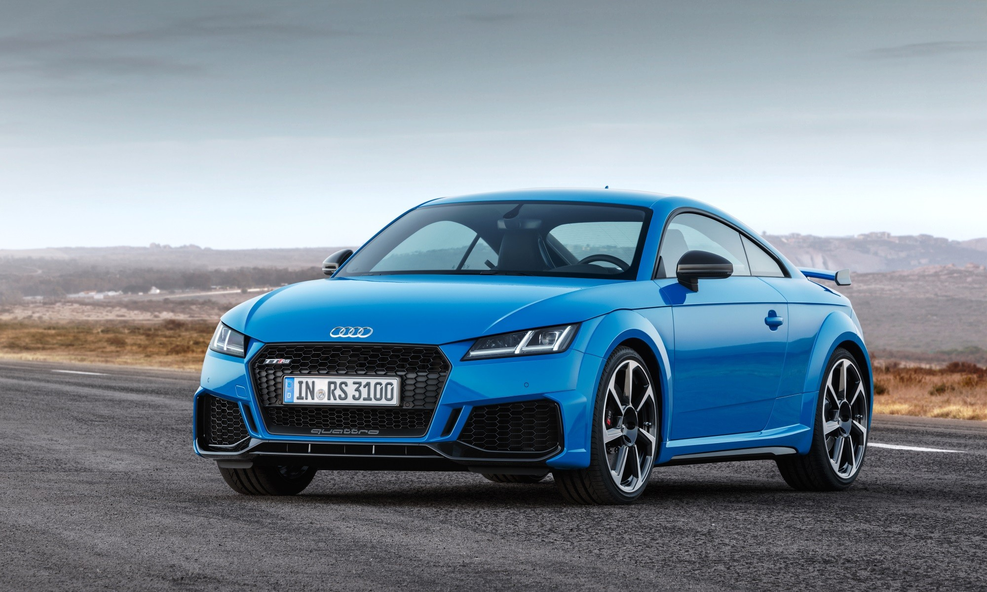 Refreshed Audi TT RS Coupé