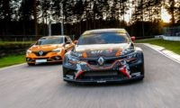 Renault Megane RS Cup with Rallycross sibling