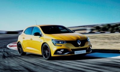 Renault Megane RS EDC Lux driven