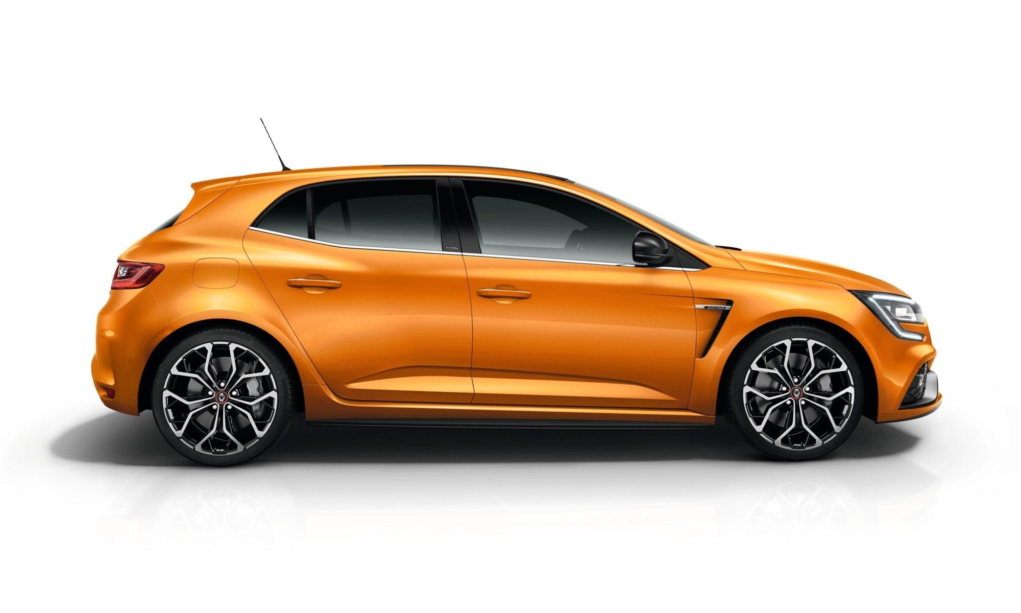 Renault Megane RS EDC Lux profile