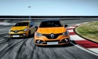 Renault Megane RS with little brother Clio RS