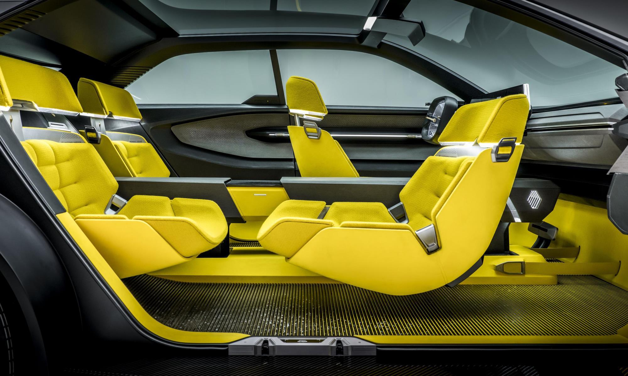 Renault Morphoz Concept cabin