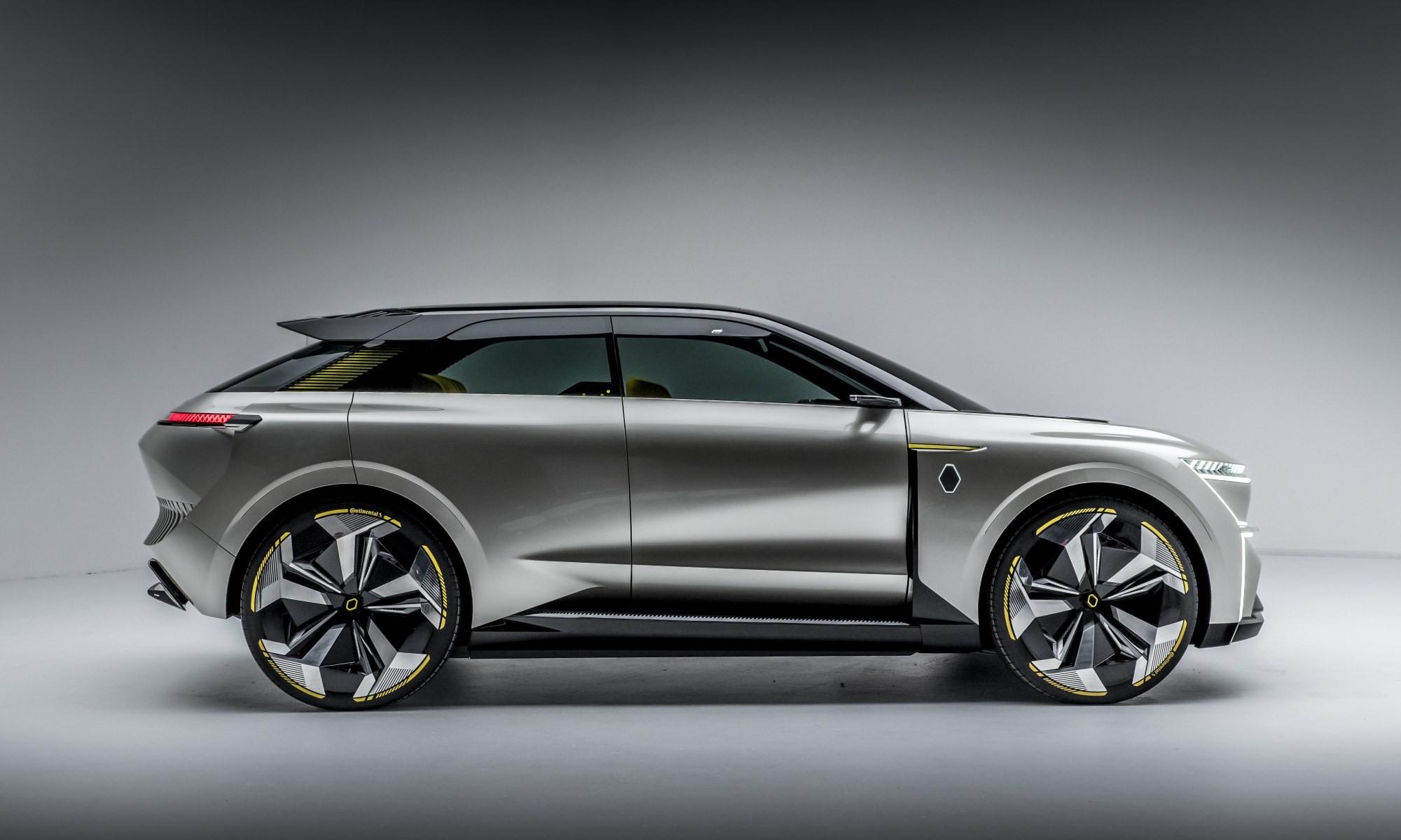 Renault Morphoz Concept profile