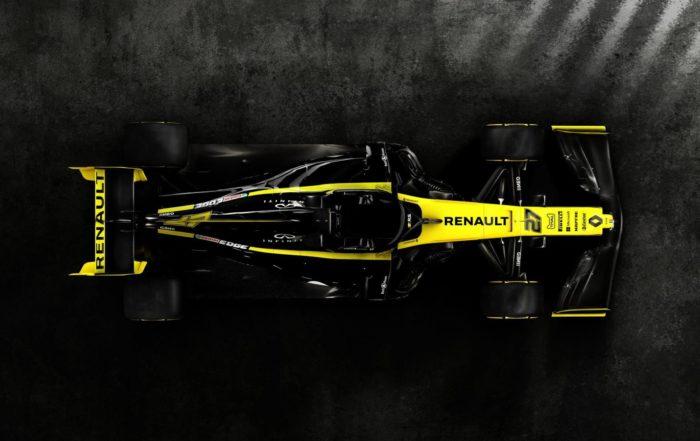 Renault RS19 top