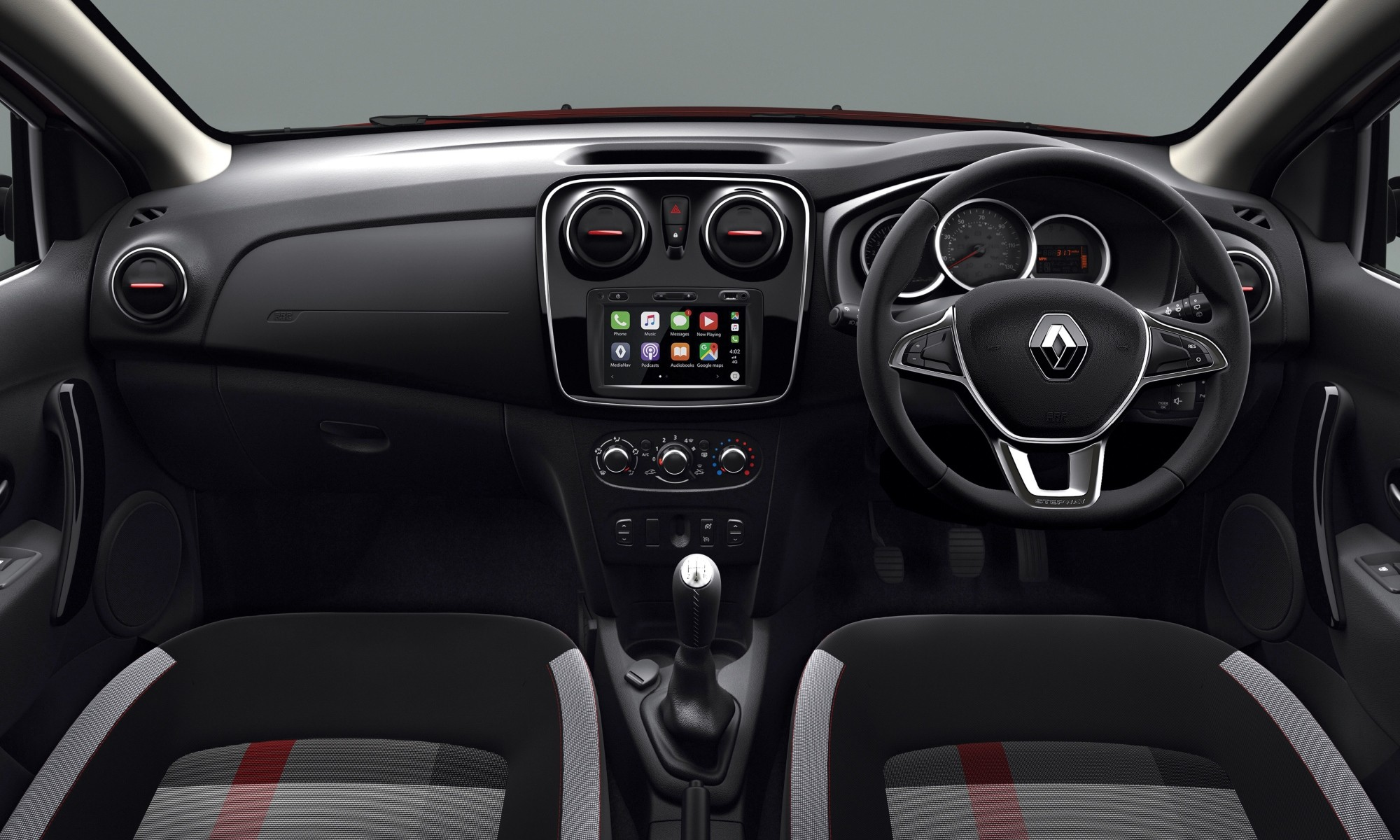 Renault Sandero Stepway Plus interior