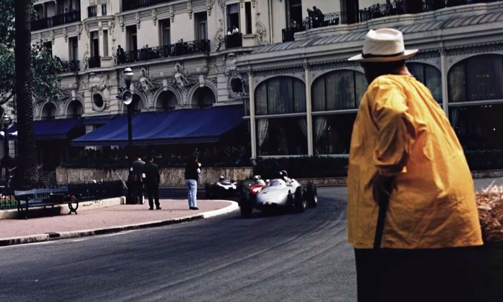 Retro Monaco F1 GP Casino Square