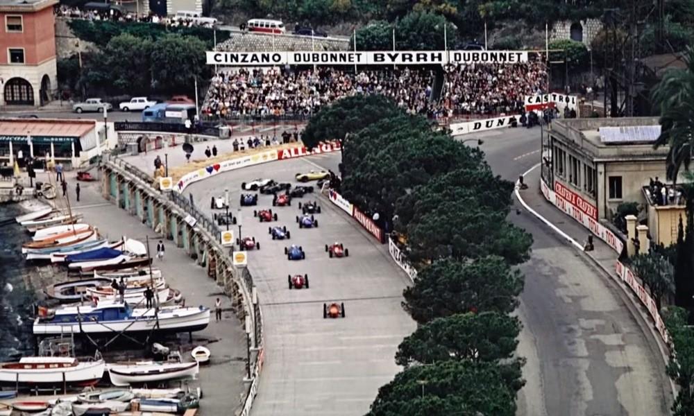 Retro F1 Monaco GP start