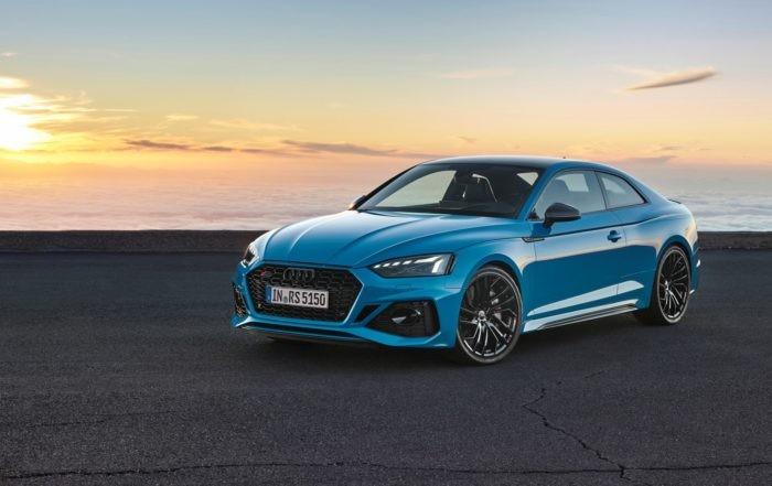 Revised Audi RS5 Coupé