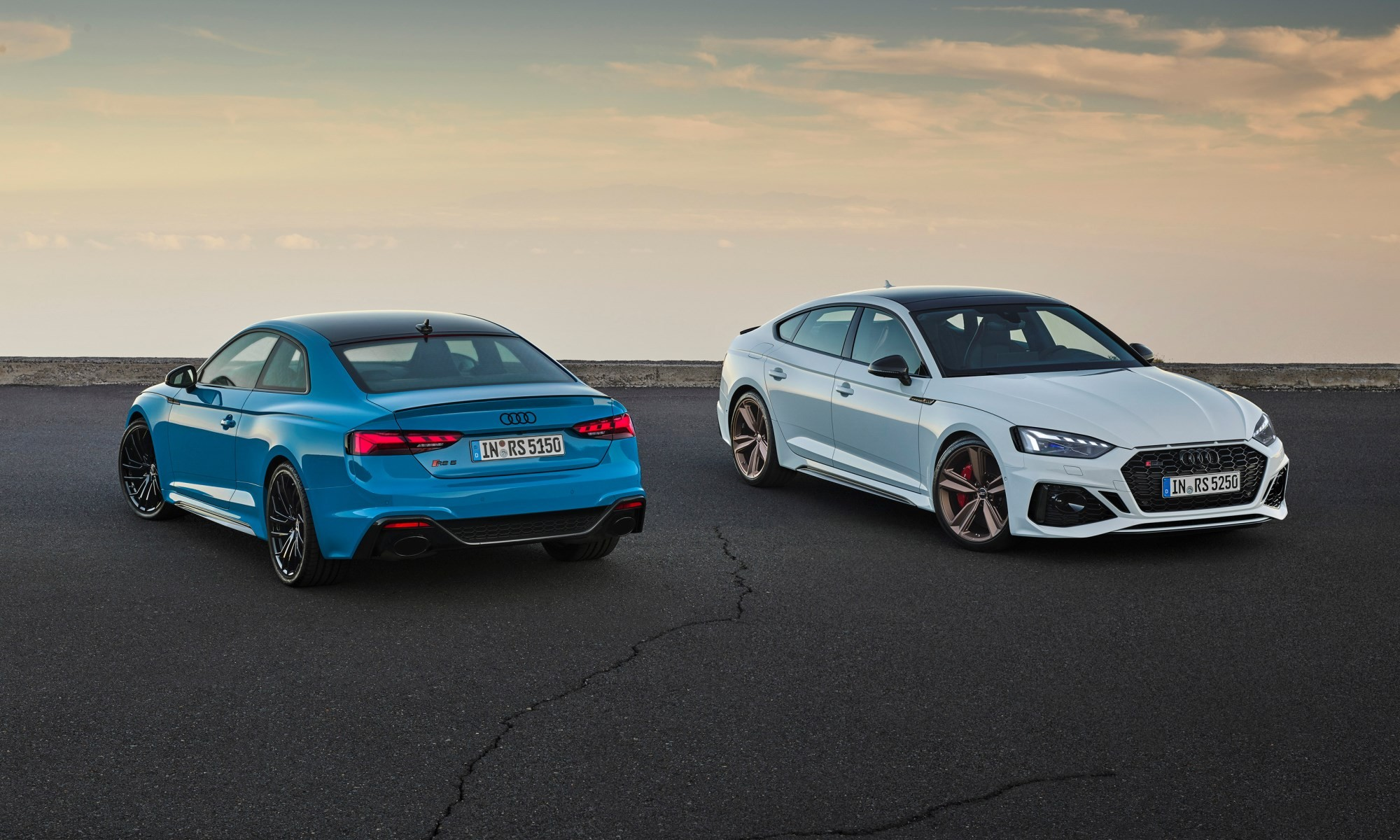 Audi RS5 Coupé and Sportback
