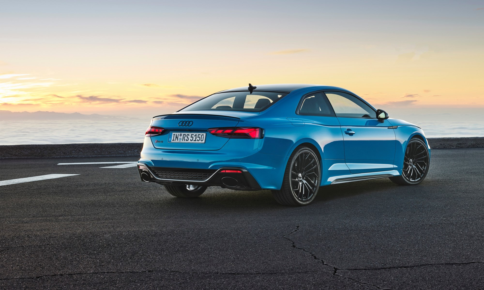 Revised Audi RS5 Coupé