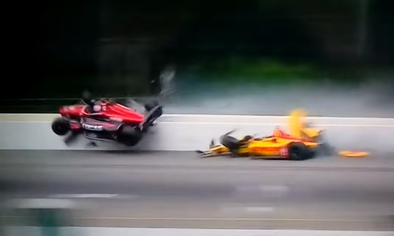 Robert Wickens IndyCar Crash