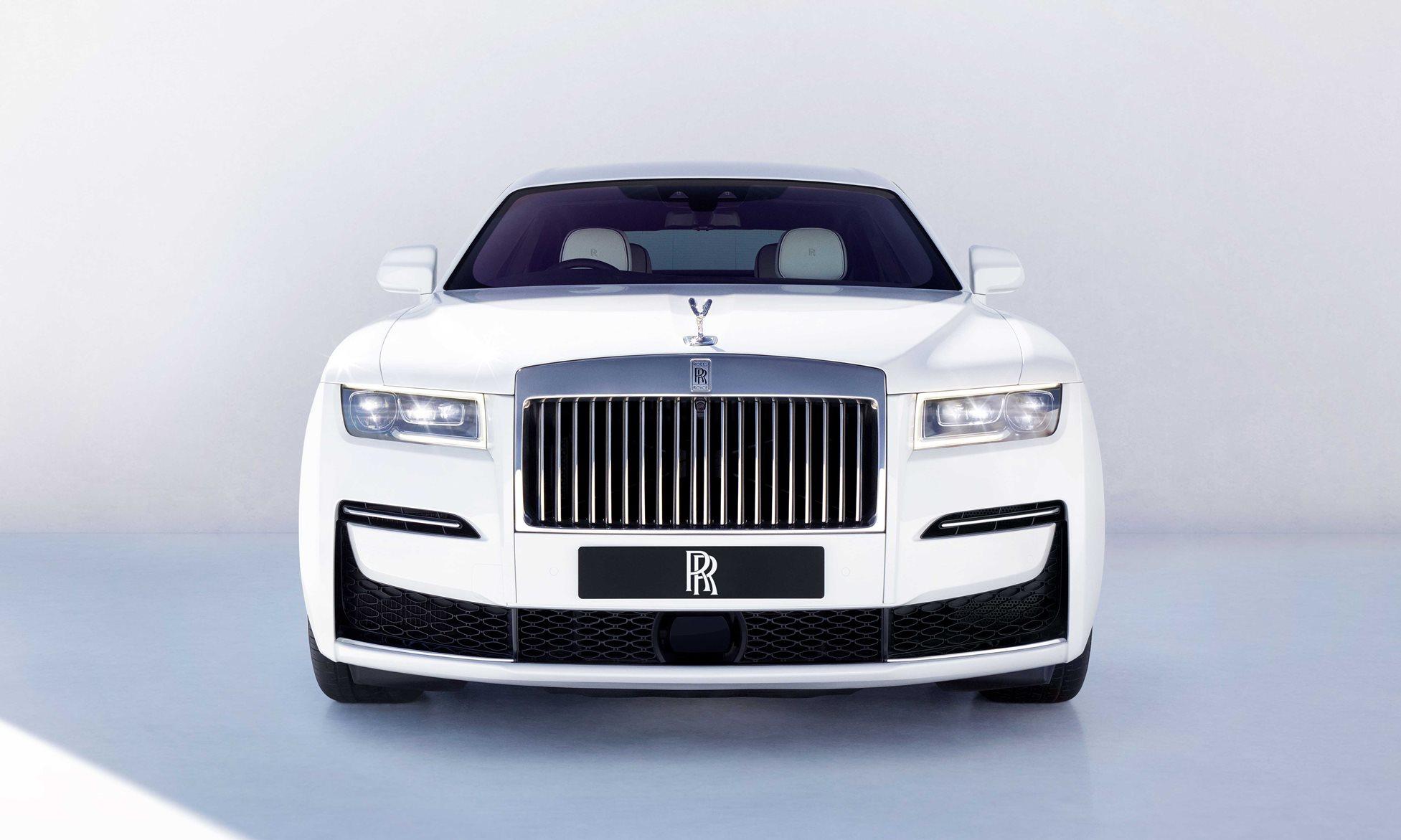 Rolls Royce Ghost front