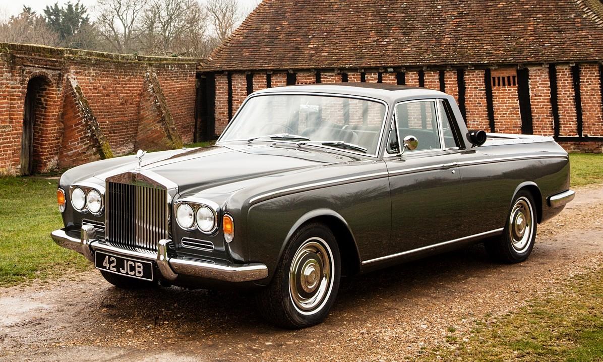 Rolls Royce bizarre bakkies