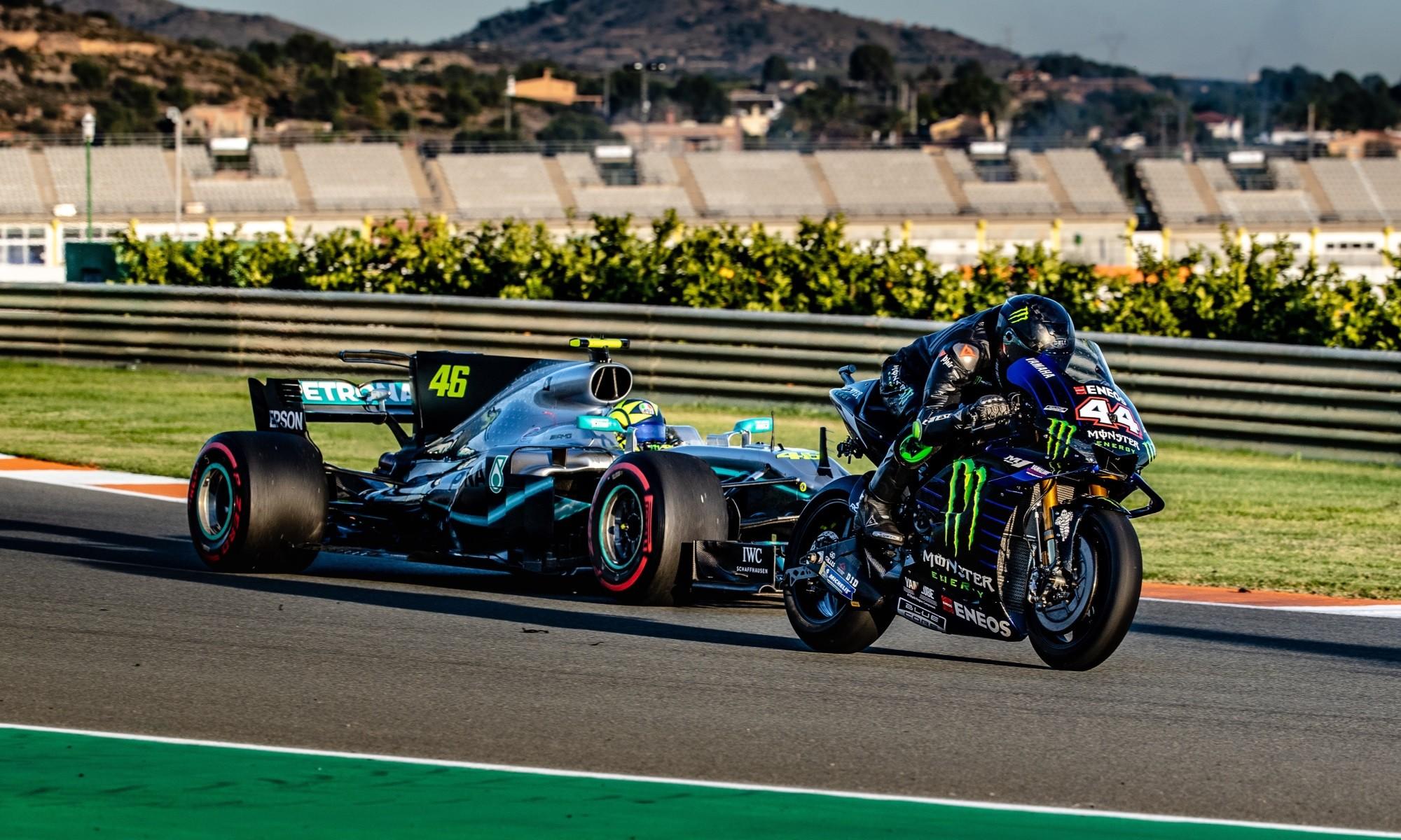 F1 vs MotoGP