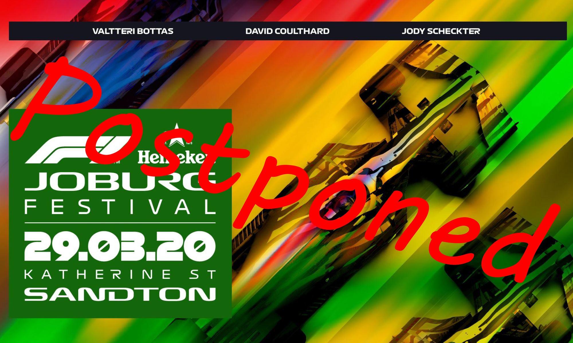 SA F1 Fan Festival Postponed 1