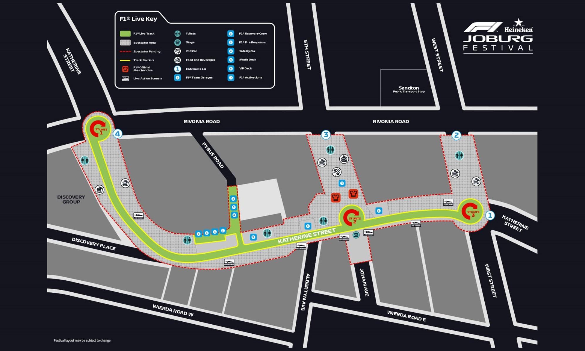 SA GP street event