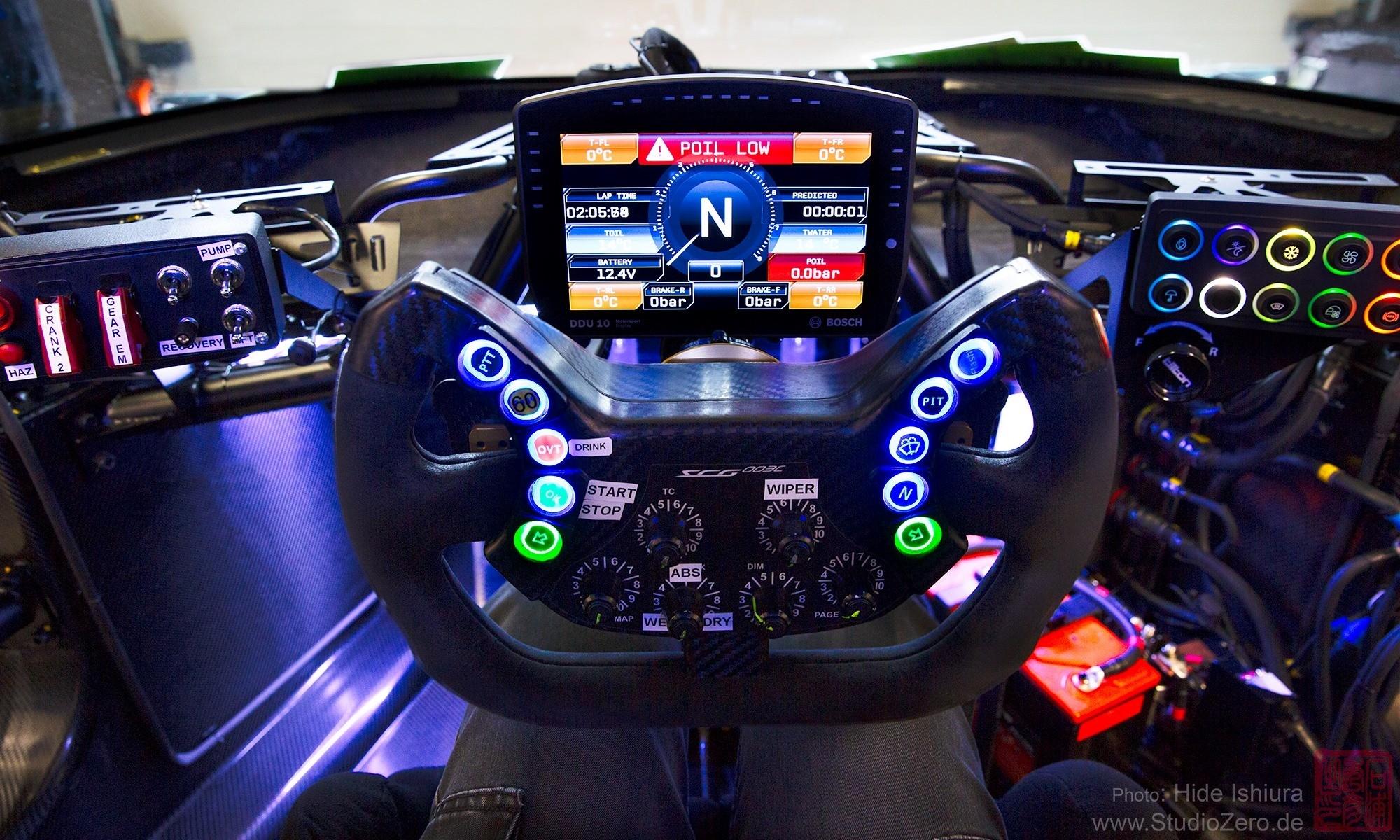 SCG 004C Testing interior