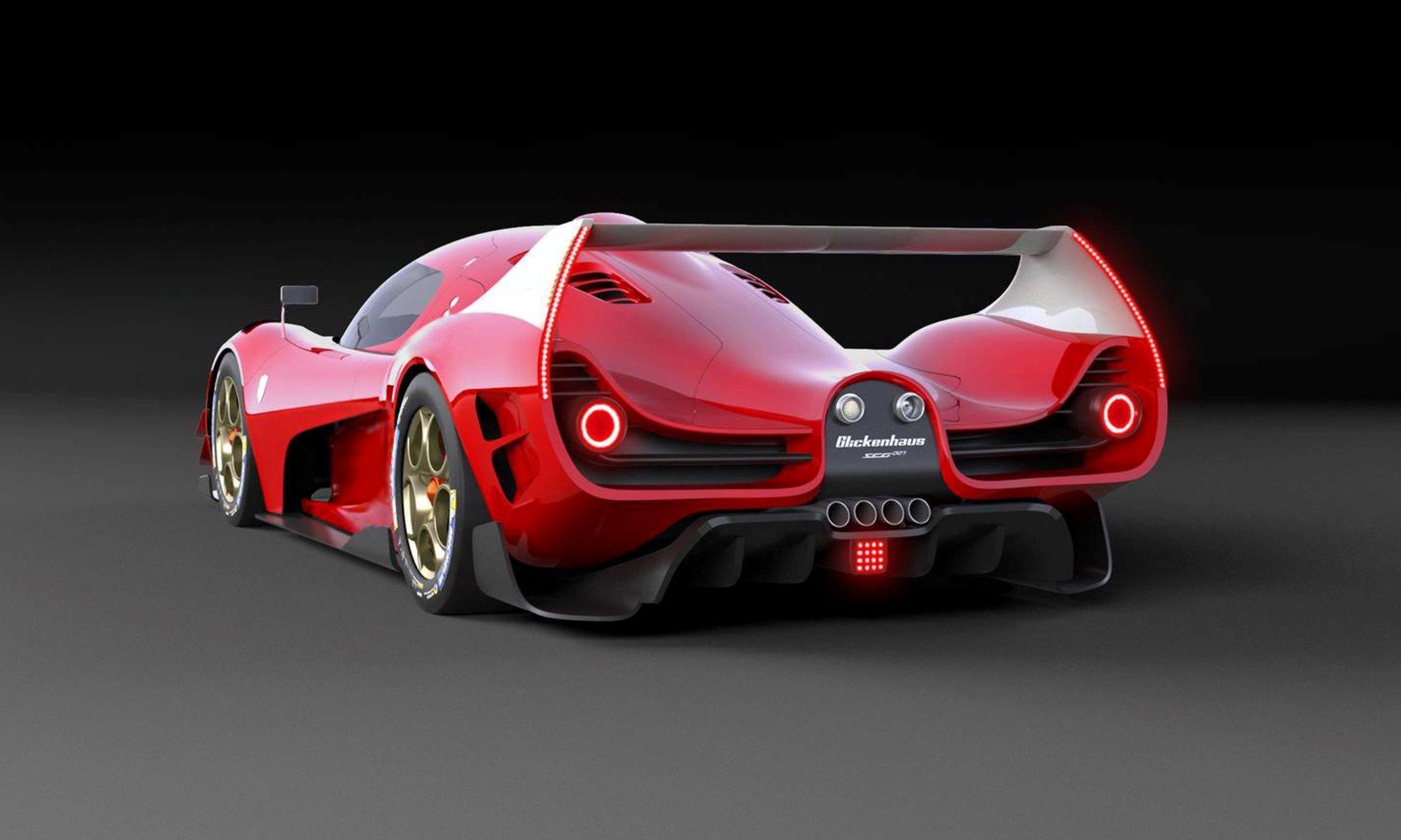 SCG 007 Hypercar rear