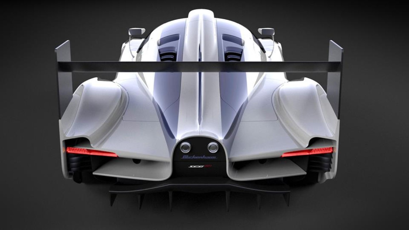 The SCG007 LMP1 will feature a hybrid powertrain.