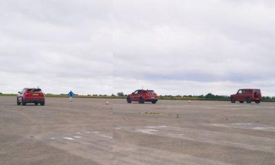 SUV Drag Race rear