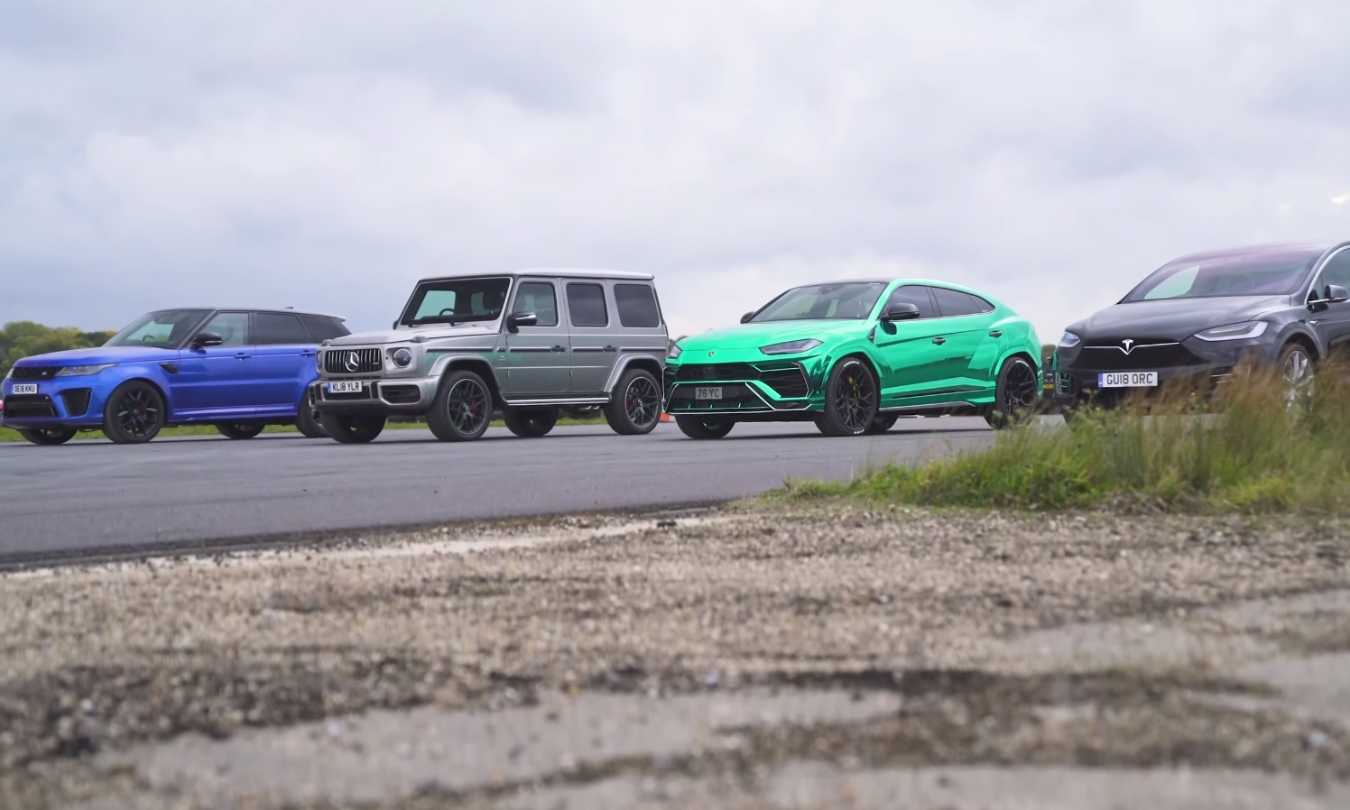SUV Drag Race
