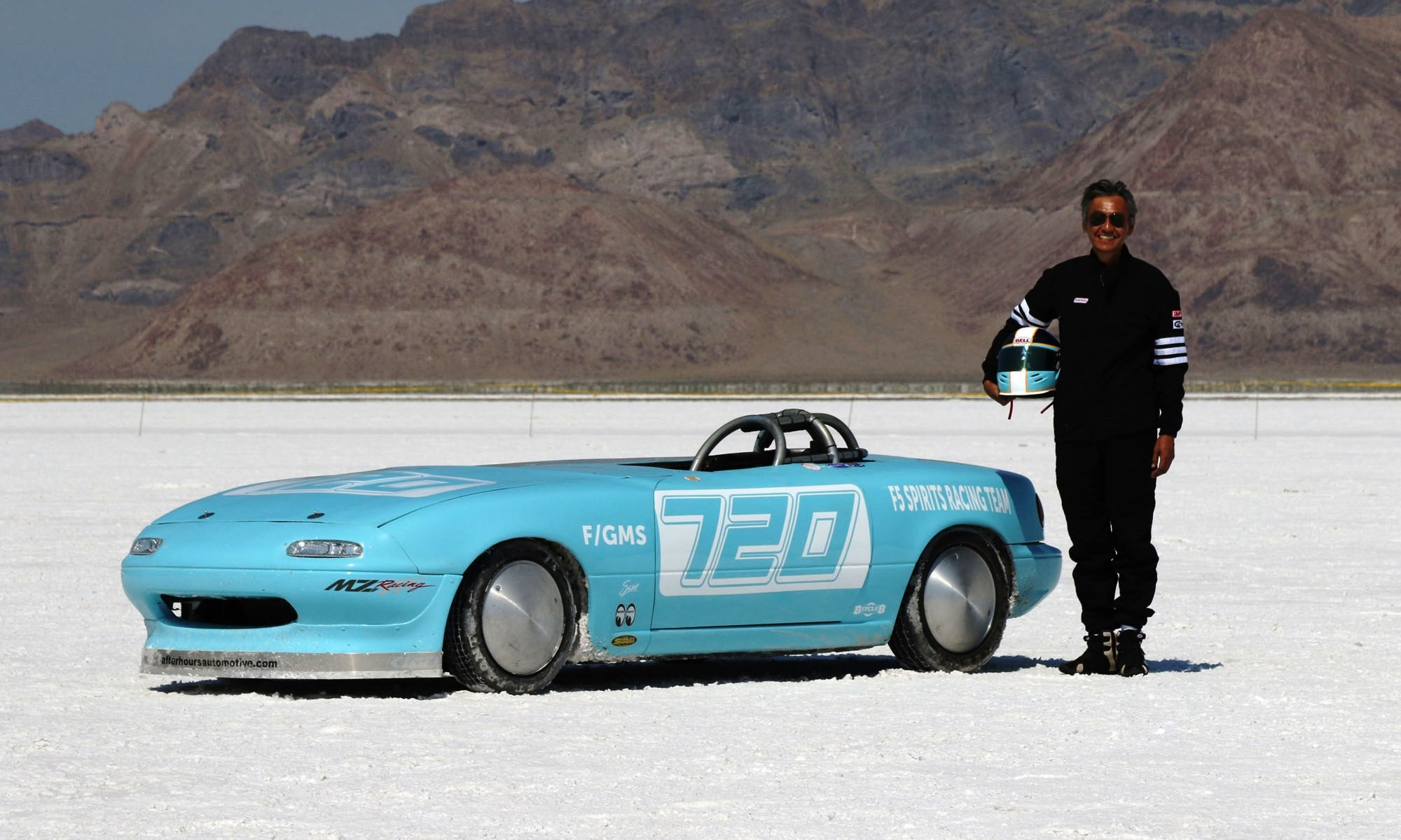 Sam Okamoto and the 280 km/h Mazda MX-5